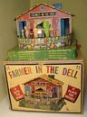 Mattel Farmer in the Dell toy from 1954 with box